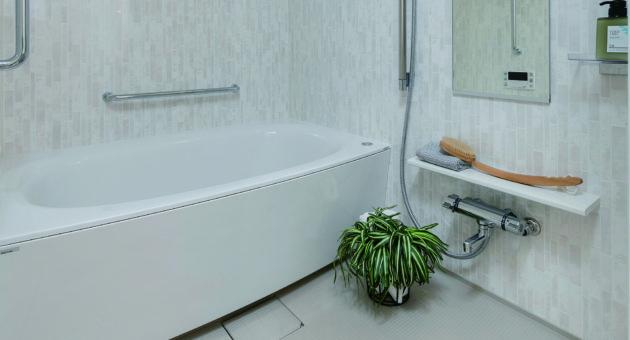 気持ちの良いバスルームで、一日をリフレッシュ!_2