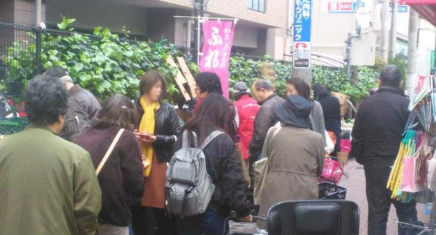 二日で1万5千人!井尻商店街の名物イベント『ふれあい市』!!第1弾