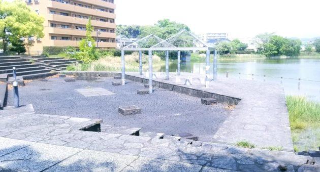 ため池と公園の良いとこ取り!『諸岡親水溜池公園』